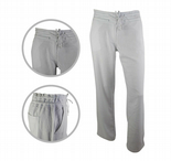 Wholesale Womens Ex High St Linen Casual Trousers Tie Up White